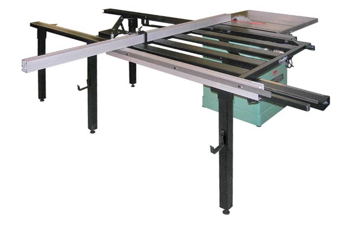 Excalibur's sliding table attachment.