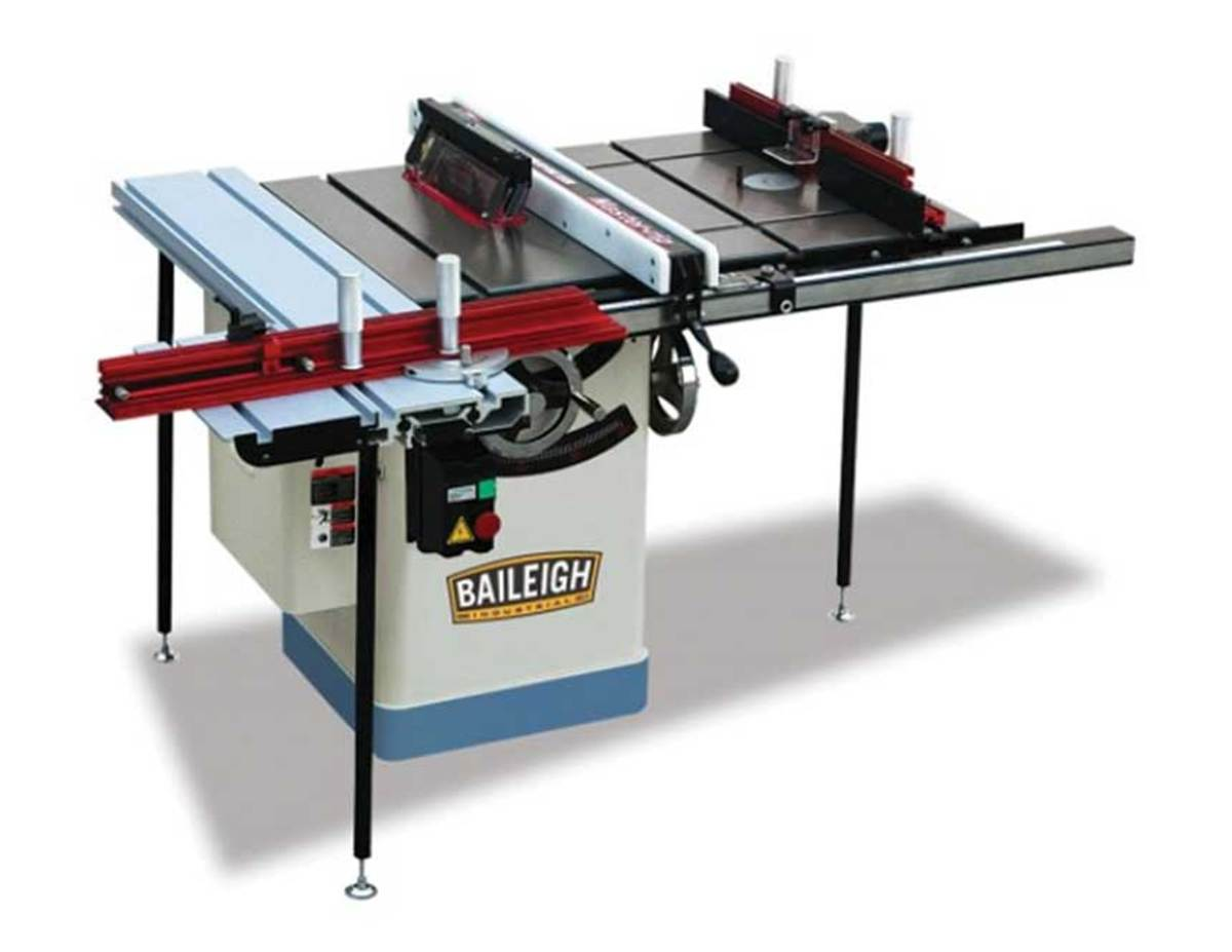 The TS-1020WS multi-function machine from Baileigh Industrial