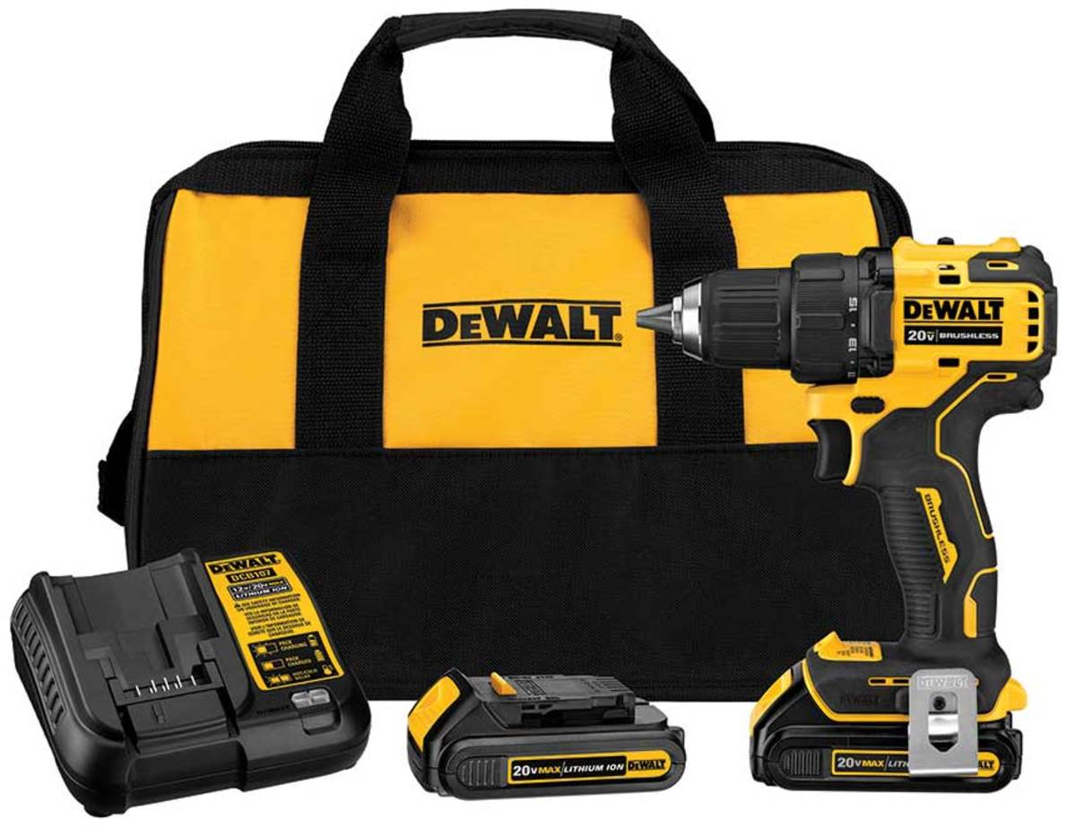 Lightweight and optimized for use in tight spaces, the Atomic Compact Series adds to DeWalt's 20-volt Max line.