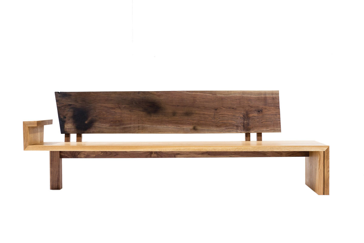 Furniture and sculpture by NK Woodworking & Design.