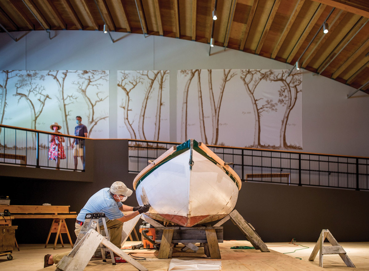 A Way with Wood features boatbuilding and carving demonstrations.