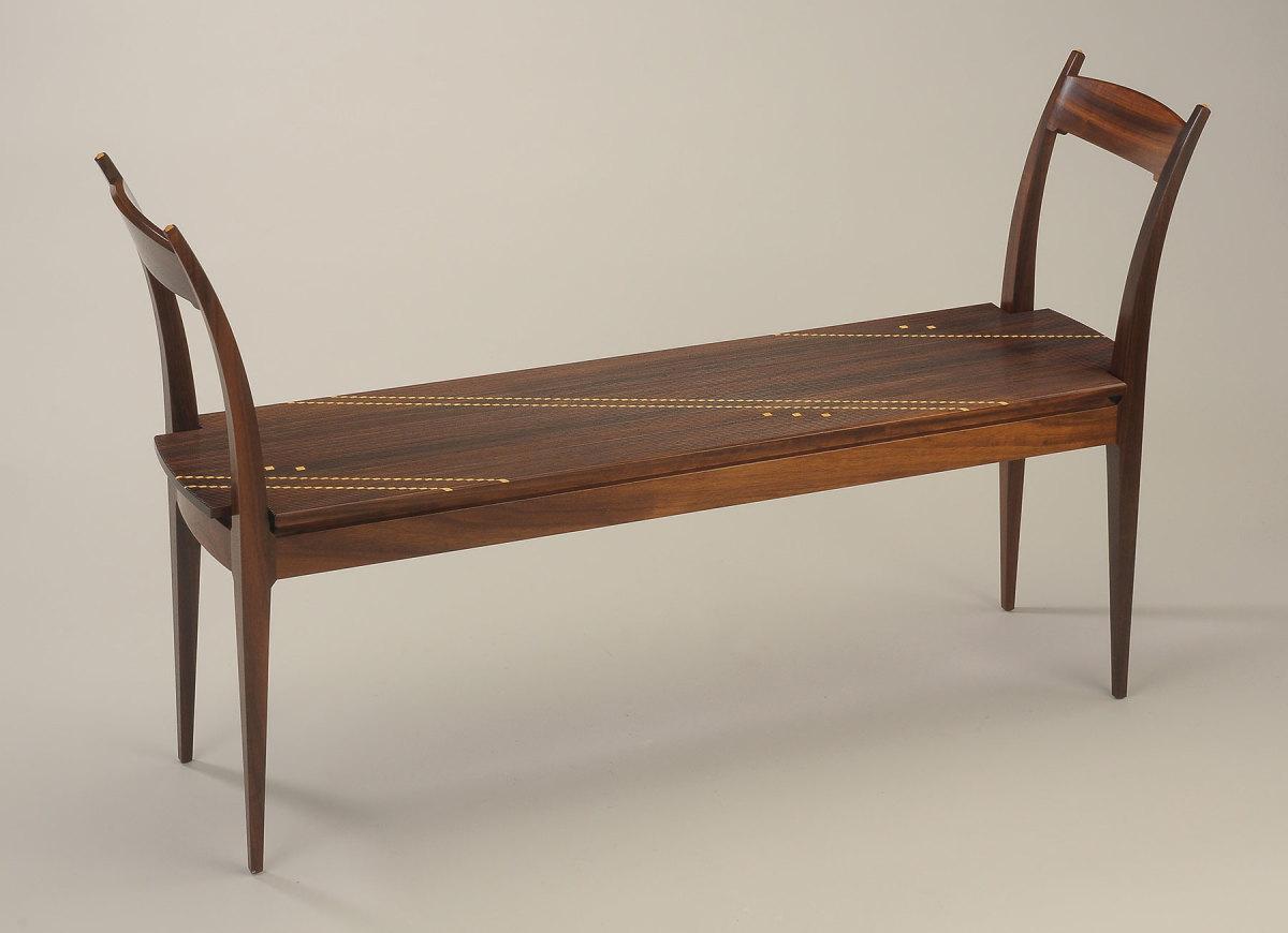 """Kristina Madsen's """"Non-Upholstered Bench"""""""