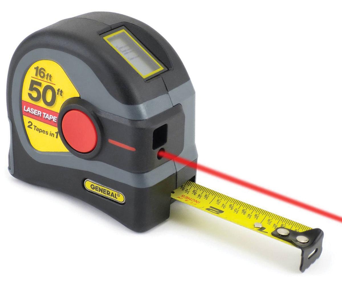 Stanley's 16' laser tape.