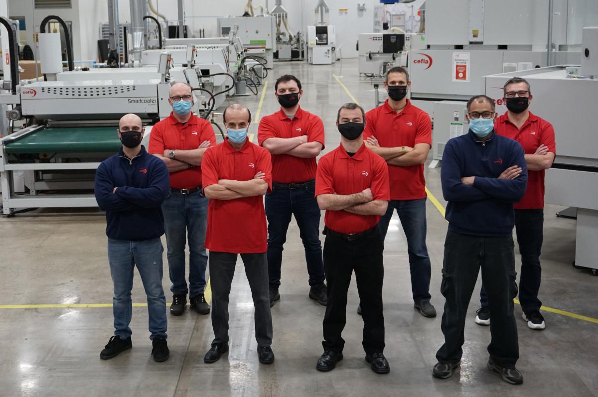 Cefla North America Service Team