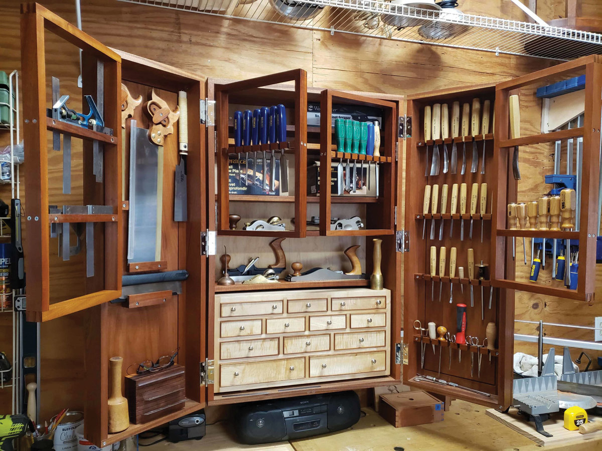 Tool cabinet by John Wilson