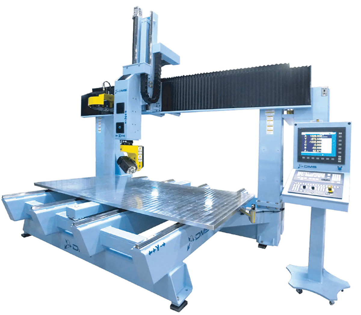 DMS 5-axis with moving table