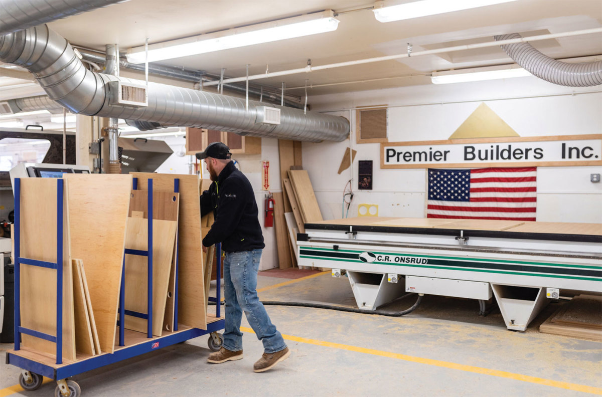 The company operates from a 12,000-sq.-ft. facility with CNC machinery and a finishing department.