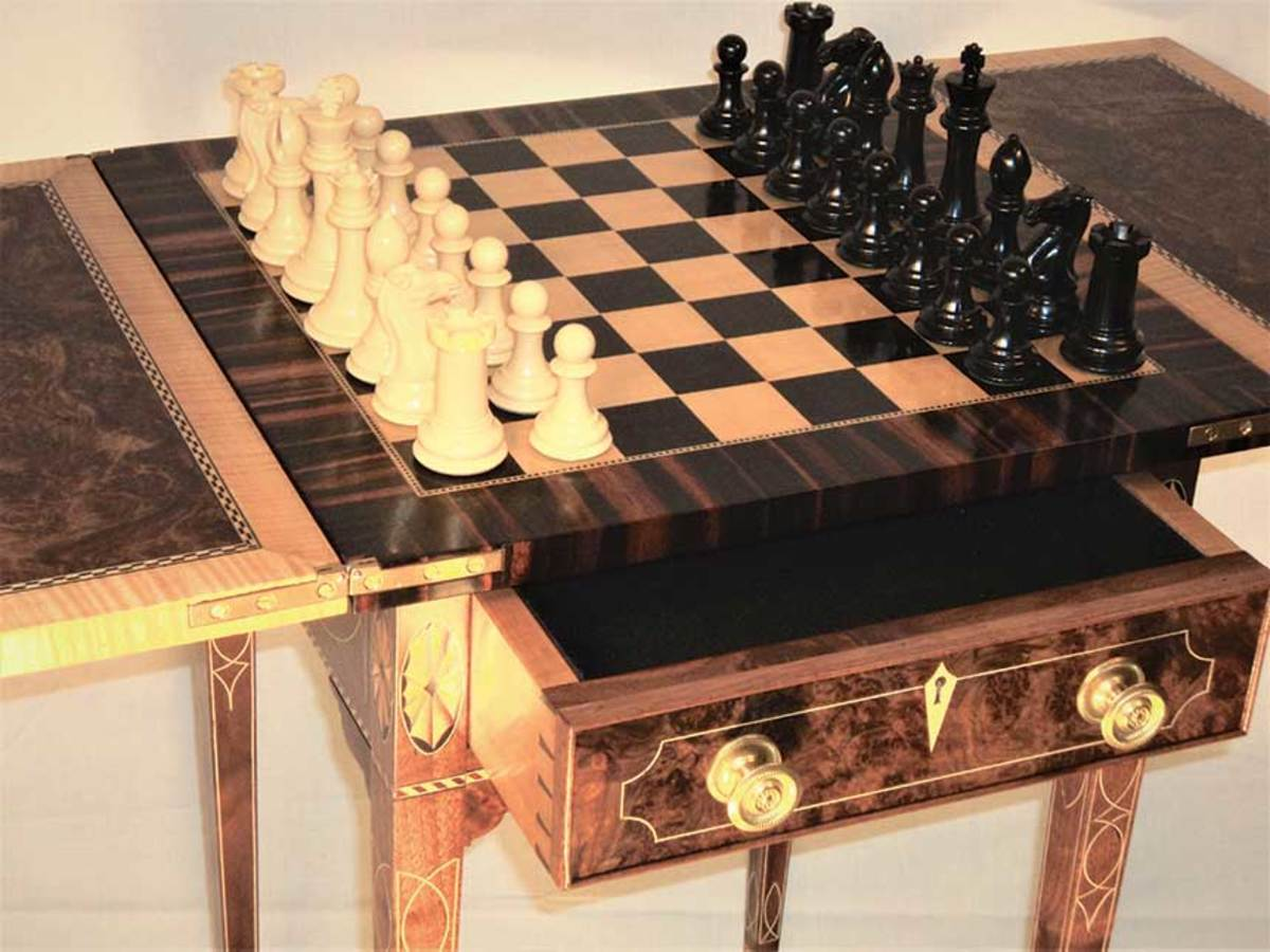Federalgaming table by William Francis Brown.