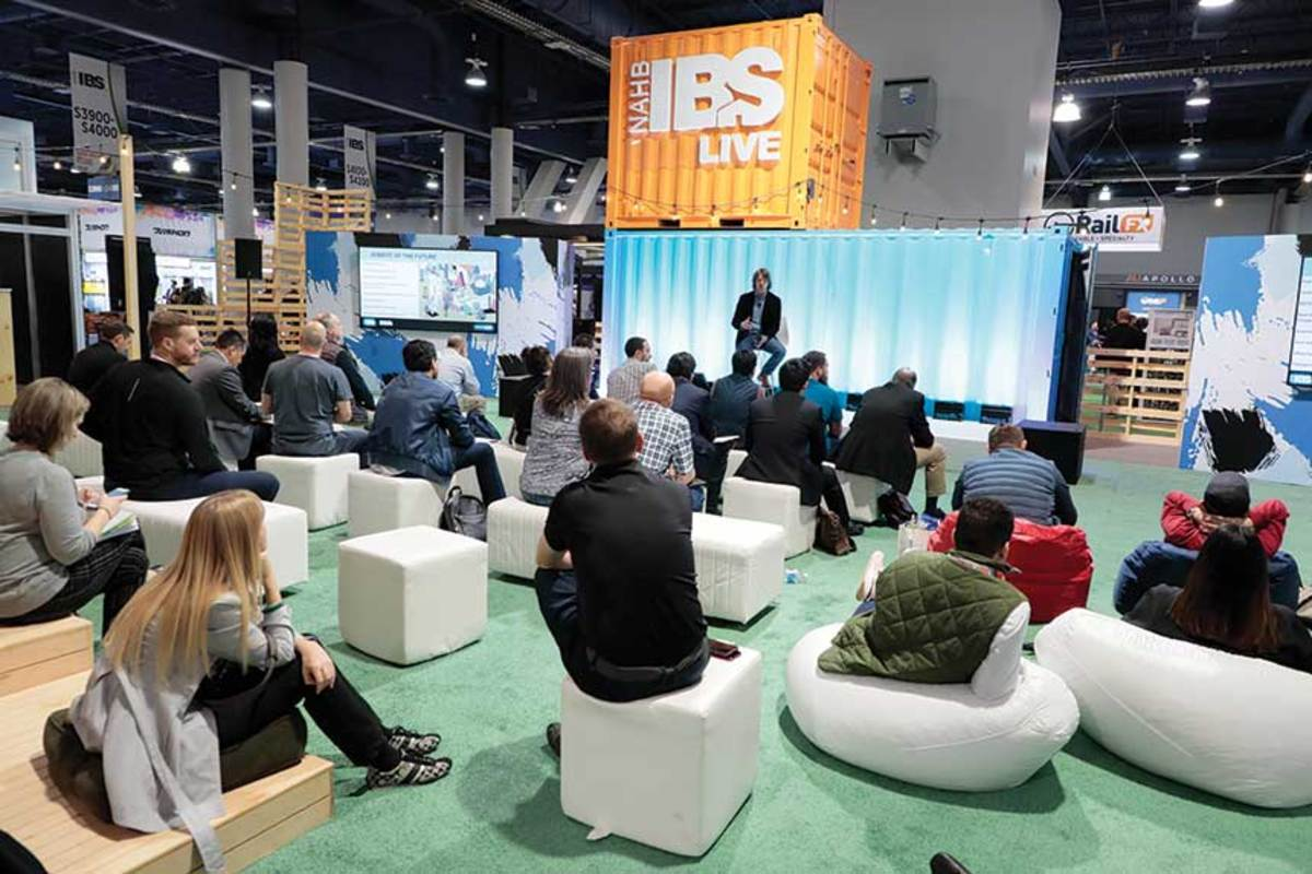 The show featured IBS Live, a theater area on the show floor forpresentations and conversations, and new product demonstrations.