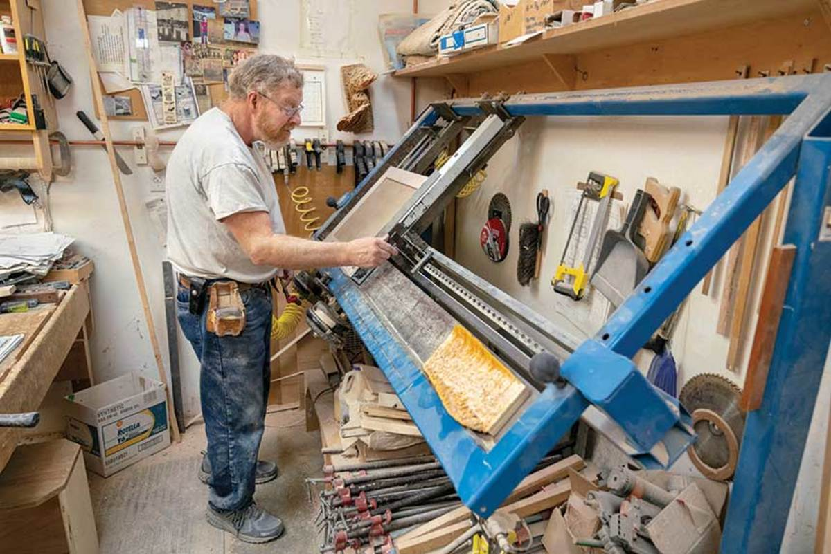 James Goodman clamping doors