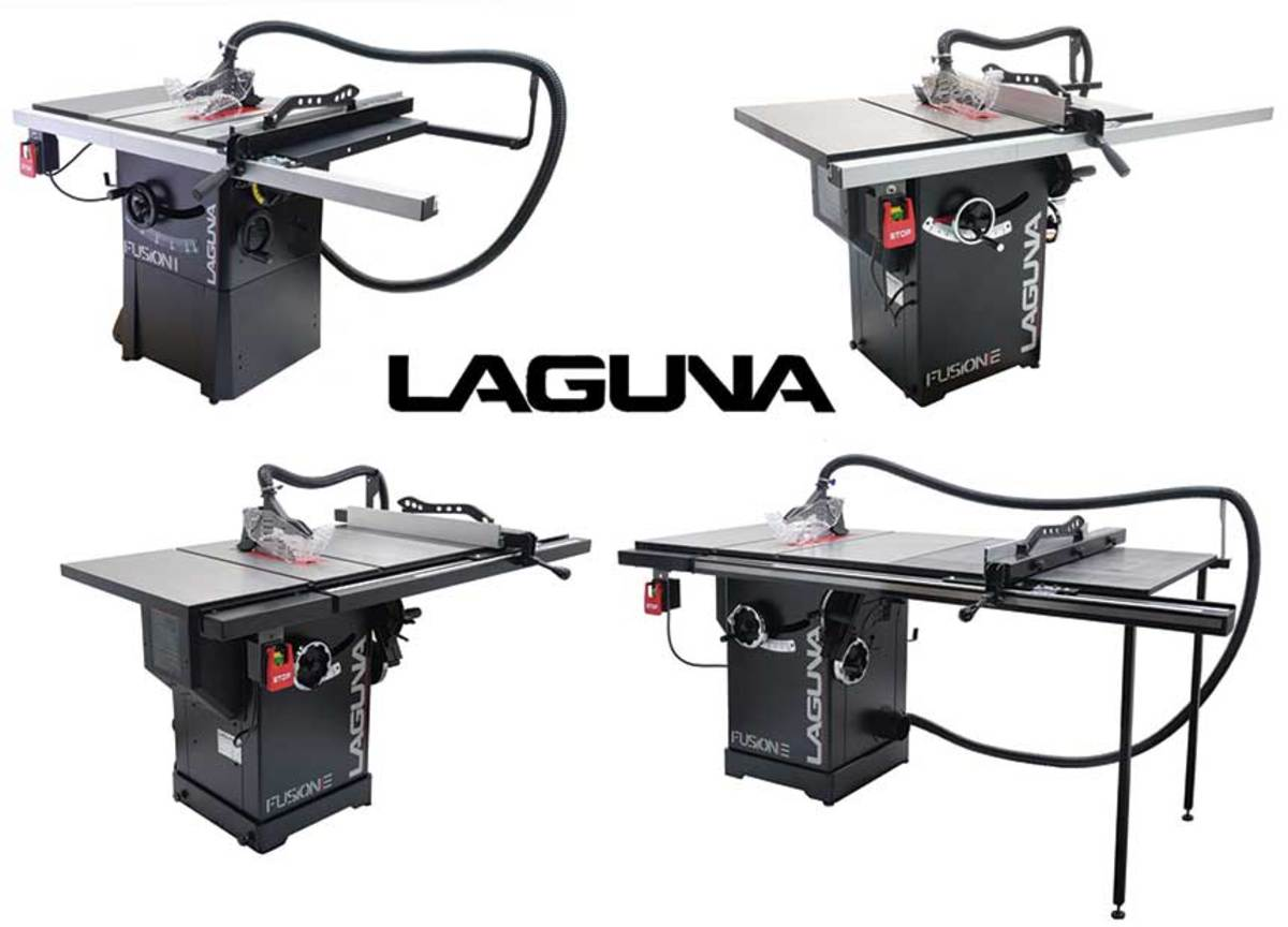 The Fusion Series, available from Laguna Tools.