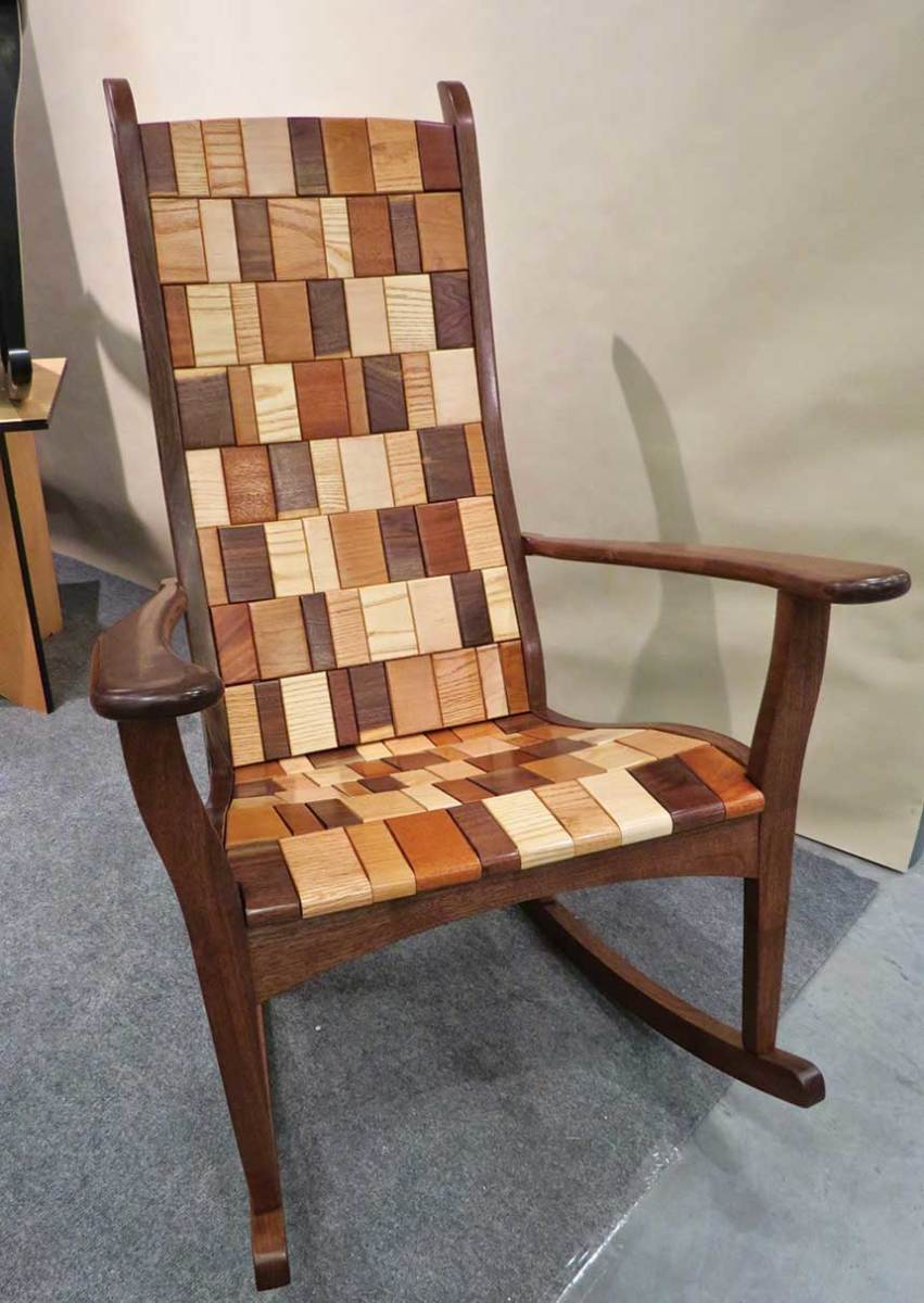 Rocking chair by Alan Daigre Designs