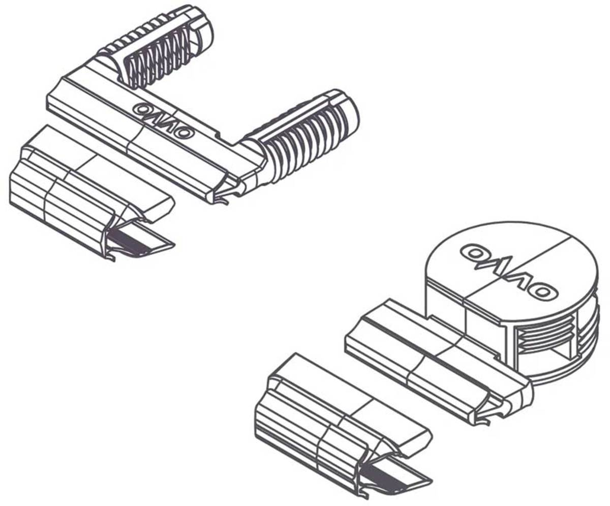 OVVO's new push-in connectors