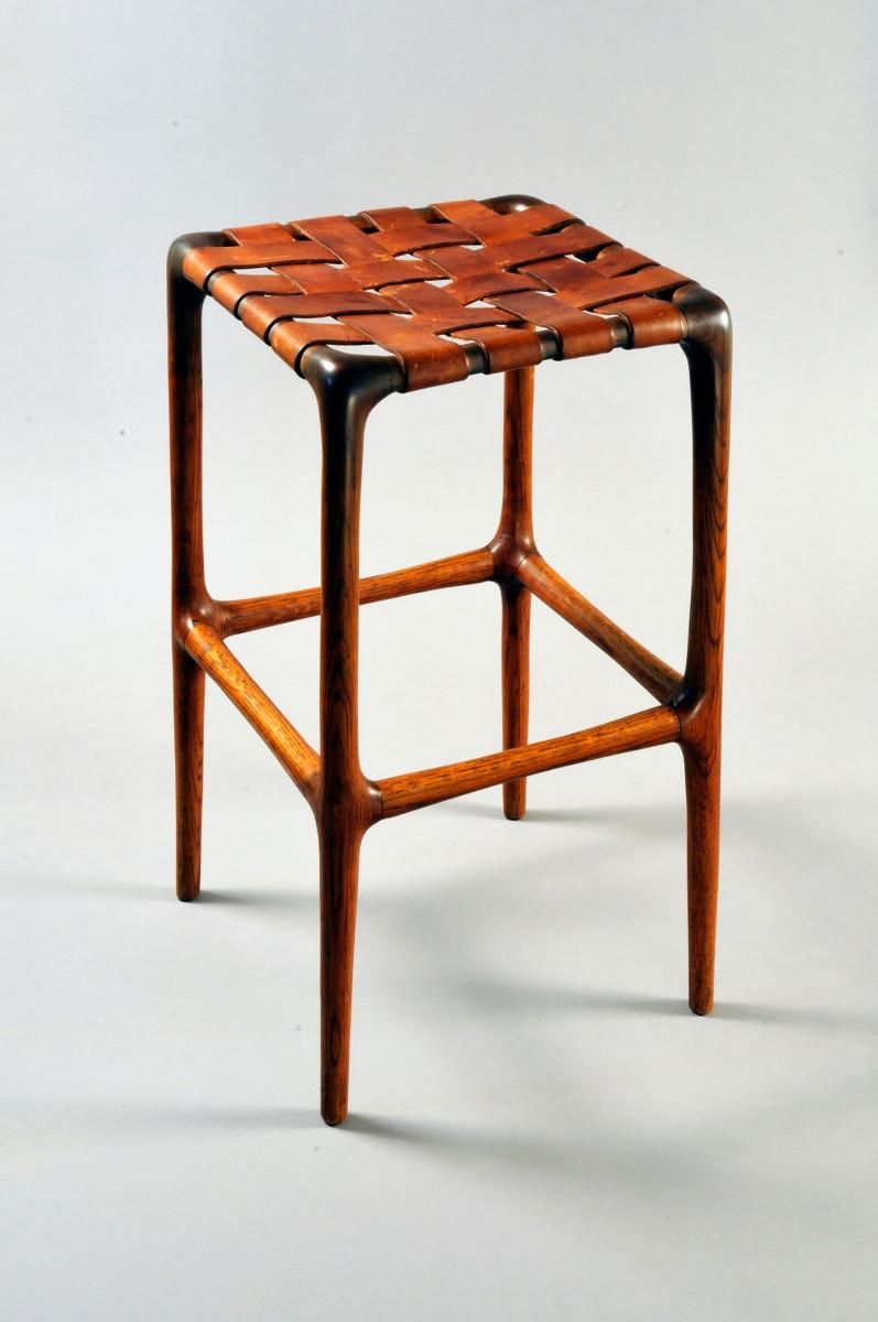 "Wharton Esherick's ""Desk Stool""."