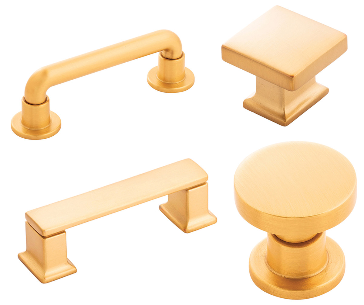 New pulls and knobs available from Richelieu.