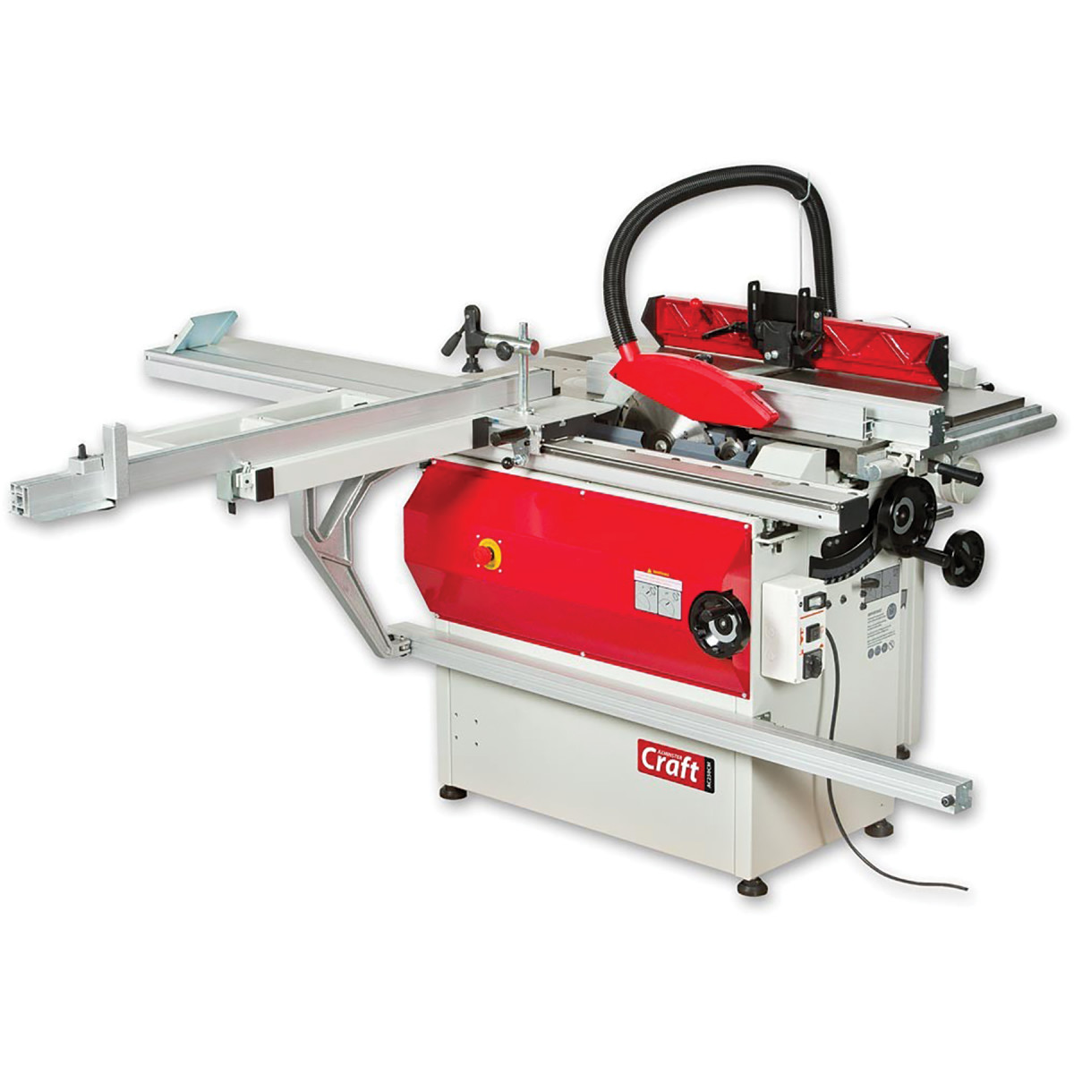 AC250CM four-function machine available from Axminster Tools & Machinery.