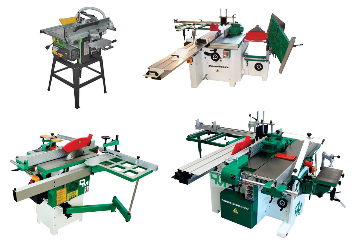 Split-combination machines from DM Italia