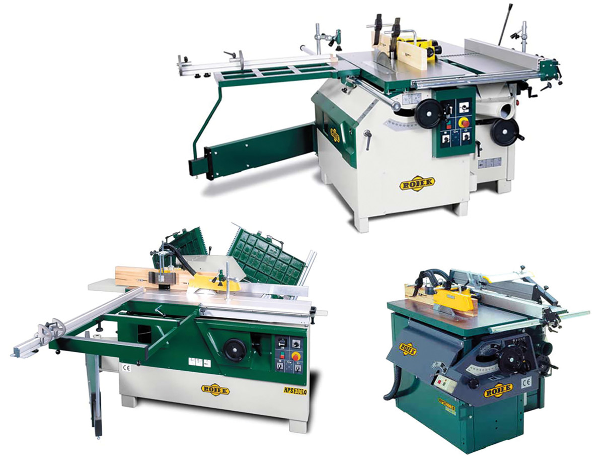 Rojek's 5-in-1 machines