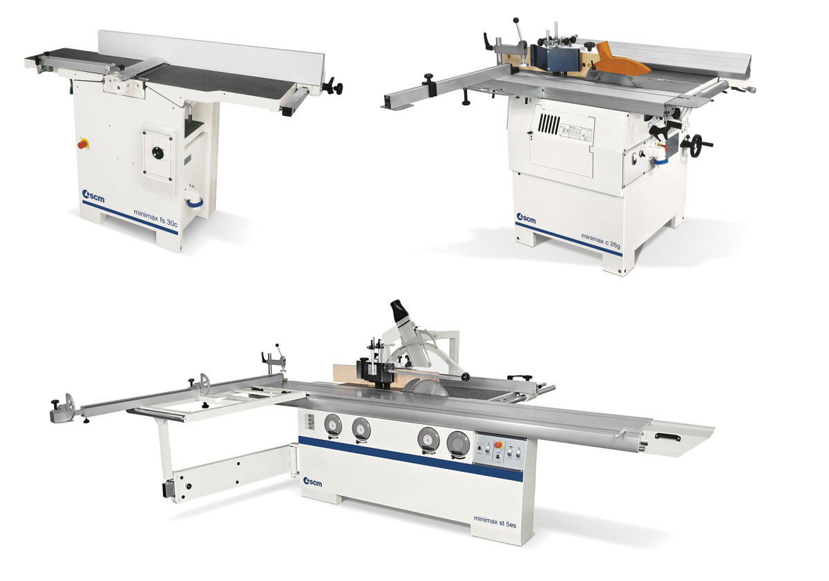 Three Minimax models available from SCM,