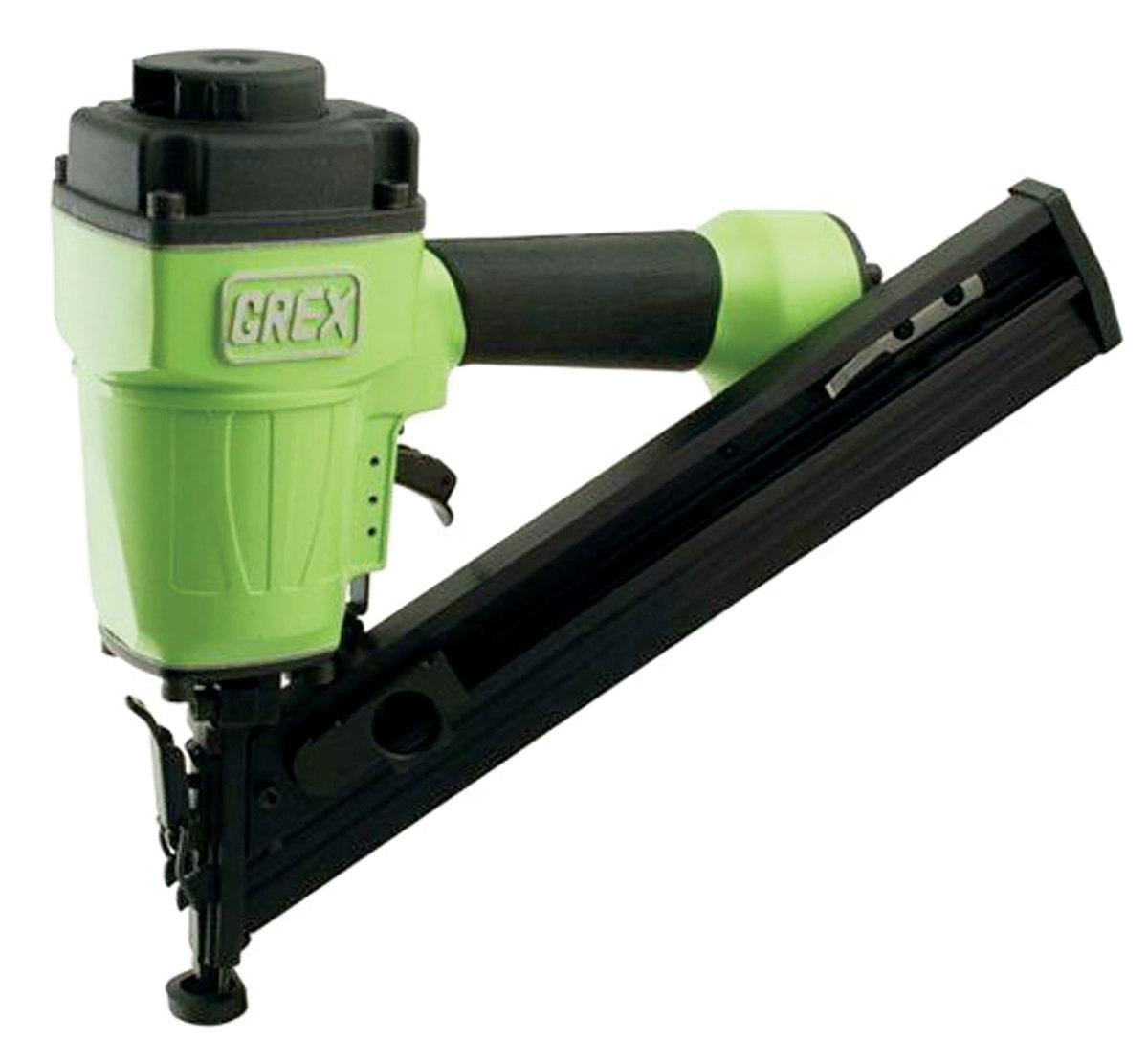 Grex AF64 15-gauge angled finish nailer.