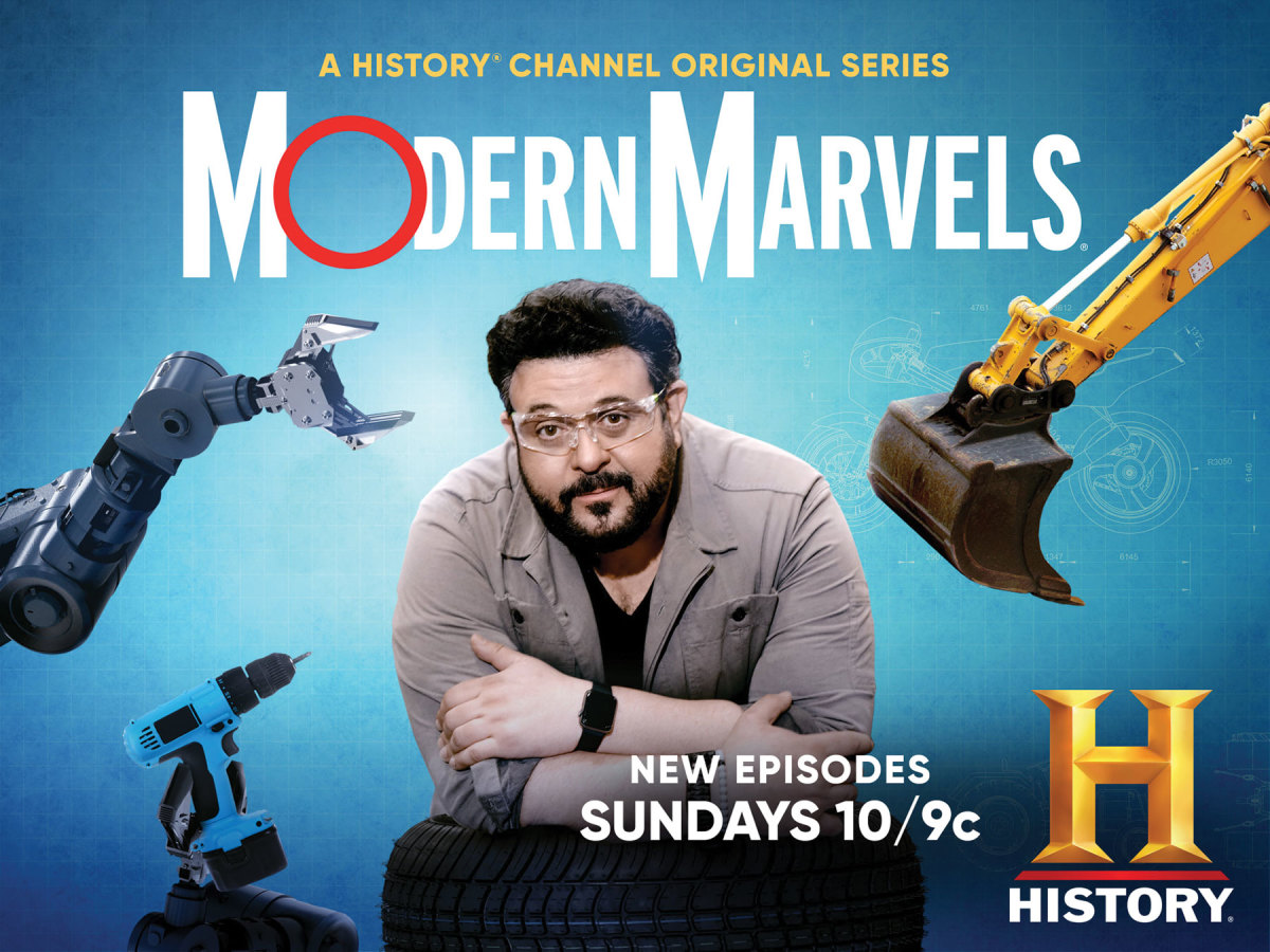 Adam Richman and The History Channel's Modern Marvels