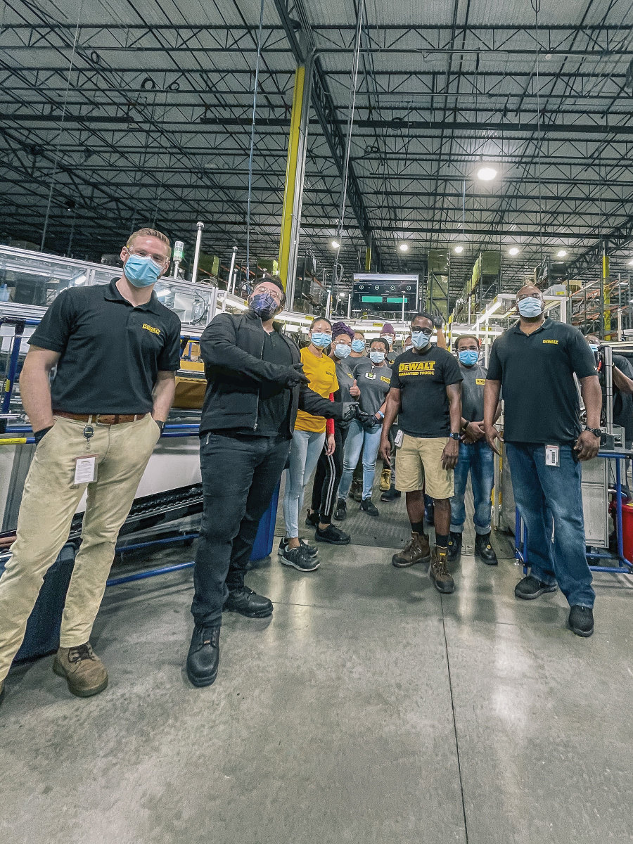 Machine show visited DeWalt's factory in Ft. Mill, S.C. to learn about the company's past and present.