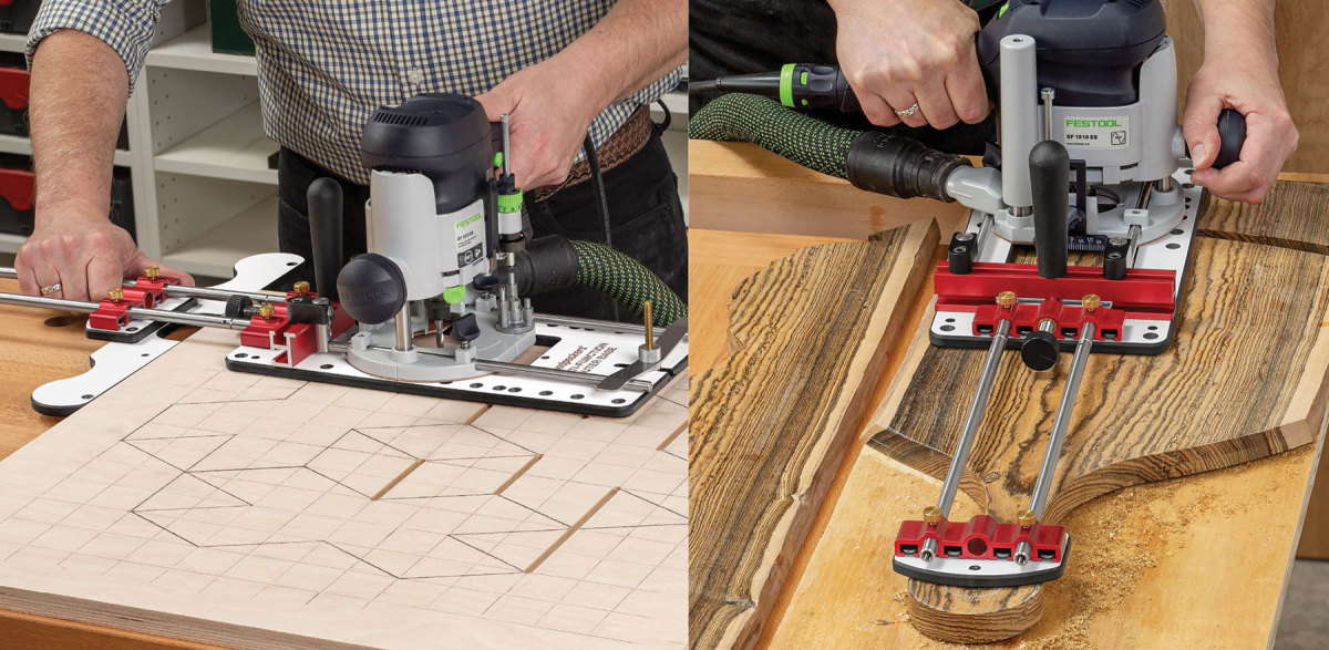 The Multi-Function Router Base from Woodpeckers.