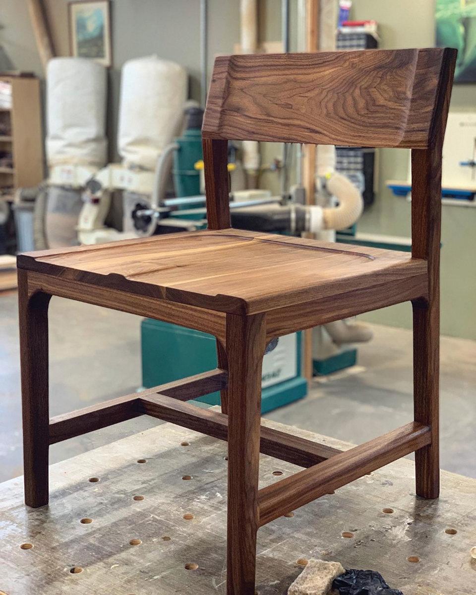 Hibbs' low-back chair