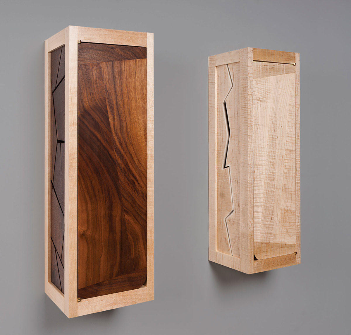 Wall cabinets by NHFMA member Leah Woods