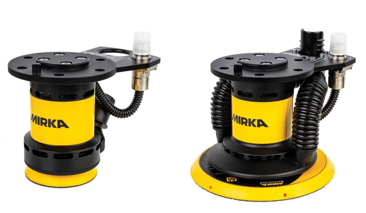 Mirka Airos robot heads