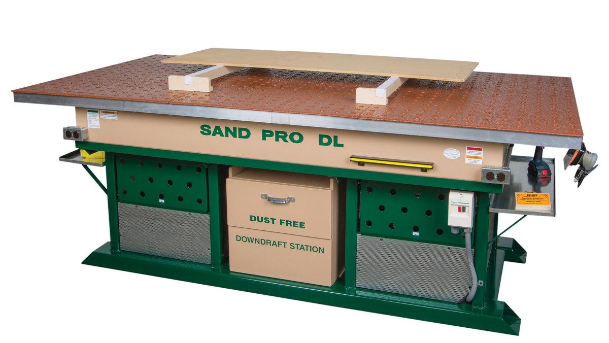 Sand Pro DL9648 downdraft table