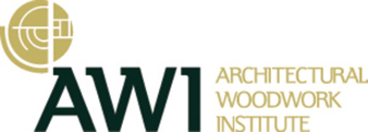 A) AWI Logo